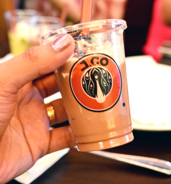 JCo Iced Chocolate