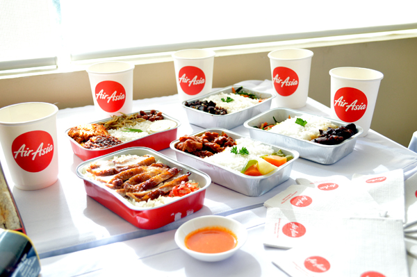 air asia hot meals