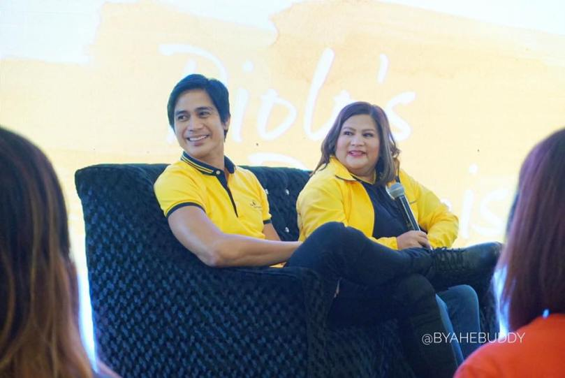 Piolo Pascual with Chiqui Pascual-Gonzales